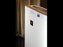 加湿機能付き空気清浄機:プラズマクラスター