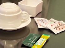 客室備品:コーヒー、緑茶、コンソメスープ(無料)