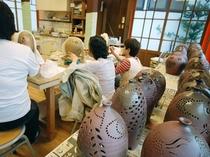 新館陶芸体験コーナー