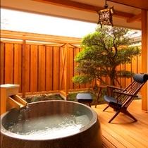 天然温泉を引いた露天風呂【Eタイプ】