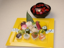 彩り小町寿司