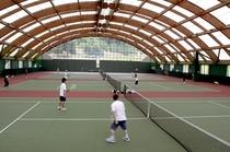 室内テニスコート