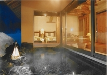 ホテル湯の陣:離れ【岳麓庵】(露天風呂付き)