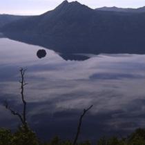 秋の摩周湖
