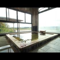 男湯 桧風呂