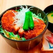 かつ丼(夕食レストラン『花々亭』メニューです)