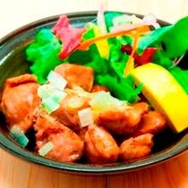 砂肝(夕食レストラン『花々亭』メニューです)