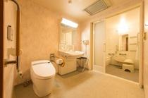 <バスルームの一例>ユニバーサルデザインルーム