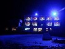 本館ライトアップ