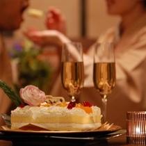 【記念日】メモリアルケーキでお祝い!