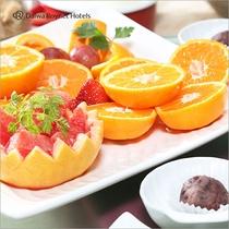 朝食【Resort】朝に嬉しい季節の果物