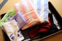 タオル浴衣