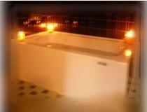 キャンドル風呂