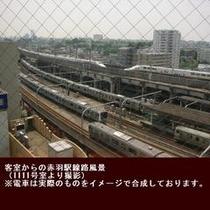 電車(枠付)