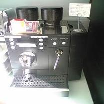 モーニングの大人気珈琲です♪一杯ずつ焙煎豆を挽きます♪