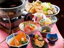 山盛り海鮮いしる鍋