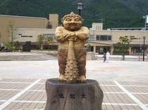 鬼怒太の像
