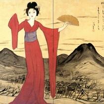 *儚くも美しい…記念館には数々の竹久夢二氏の作品を展示しております
