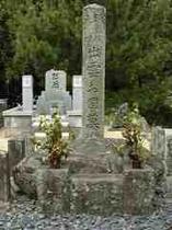 歌舞伎のルーツ出雲の阿国の墓(出雲大社のそば)
