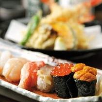 ◆食彩比羅夫では日本海と太平洋、両方の海から取り寄せた、新鮮素材の美味しさをお楽しみいただけます