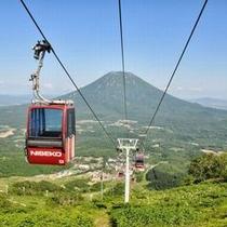 ◆夏はサマーゴンドラで標高820mまで!