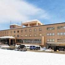 ◆冬のホテル外観