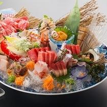 お魚プラン アワビ・本マグロも