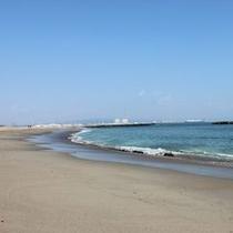 阿字ヶ浦海岸は車ですぐ!