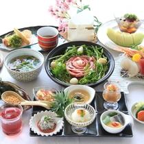 【和食会席コース料理 一例】
