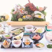 【活海鮮盛り】活きたネタを提供直前に調理するからぷりぷり新鮮♪