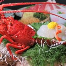 【グレードアップ☆活伊勢海老】ぷりっぷり新鮮な食感を存分にお楽しみください。