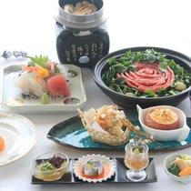 【秋メニュー:お料理少なめでお得なプラン】松茸釜飯、常陸牛の味噌鍋などをお楽しみ下さい