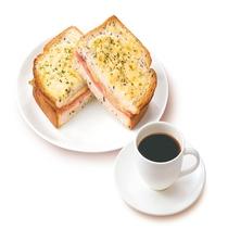 【朝食一例】クロックムッシュ