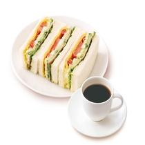 【朝食一例】ミックスサンド