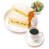 【朝食一例】コールスローサンド