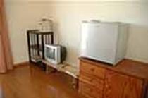 冷蔵庫・テレビも完備!