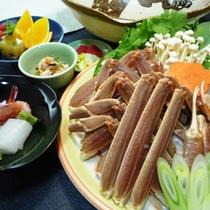 冬の鍋の代表【蟹すき鍋】!たっぷりの蟹をほくほく言いながら、温まってください!