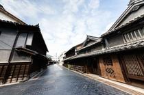 竹原の古い町並み