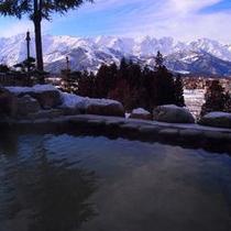 露天風呂(雪見)