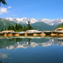 【天】過去にお客様から「この池を見てみたい、どこにあるの」と。本当に見事な眺めです(実話)