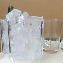 自動製氷機がホテル一階にございます