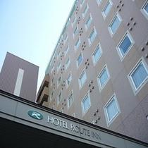 ホテル外観(エントランスより)