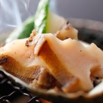 【鮑のバター焼き】(一例)