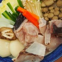 フグ鍋(ご夕食例)
