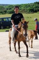 与那国馬乗馬①
