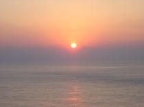 日本最後の夕日②