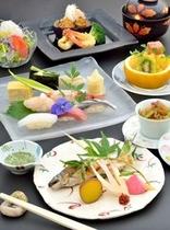 【福鮨】四季折々の厳選食材がお楽しいただけます。