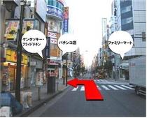 ホテルまでのアクセス②