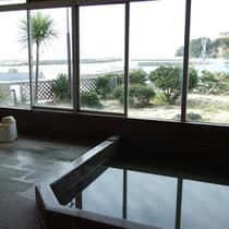 *【大浴場(女湯)】お風呂からも海が一望できます♪