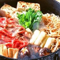 *【すき焼きイメージ】甘辛い割り下でいただく絶品のすき焼きをどうぞ!